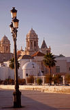 Cadiz boulevard Royalty Free Stock Photo