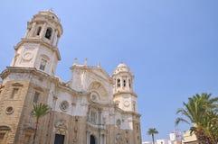 Cadiz cathedral. Stock Photos