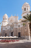 Cadiz Cathedral, Andalusia, Spain Stock Image