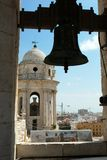 Cadiz Cathedral Bell Tower. stock photo