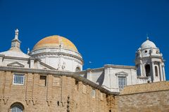 Cadiz Cathedral Royalty Free Stock Images