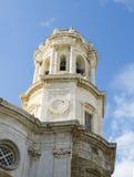 Cadiz Cathedral. La Catedral Vieja, Iglesia de Santa Cruz. Stock Image
