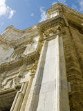 Cadiz Cathedral. La Catedral Vieja, Iglesia de Santa Cruz. Royalty Free Stock Photos