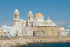 Cadiz cathedral Stock Photos