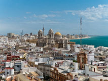 Cadiz Cathedral, Spain royalty free stock image
