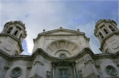 Cadiz Cathedral, Spain Royalty Free Stock Images