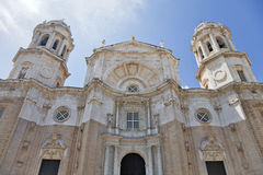 Cadiz cathedral Stock Photography