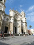 Cadiz Cathedral Stock Photo