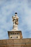 Cadiz Cathedral statue. stock photo