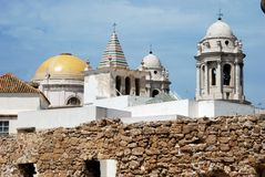 Cadiz Cathedral. royalty free stock images