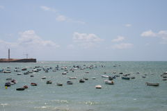 Cadiz coast Royalty Free Stock Images