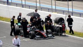 CADIZ - 28 DE MAIO: Fórmula V8 3 dos world series 5 em Jerez de la Dianteiro filme