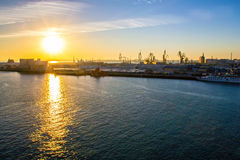 Cadiz docks Stock Photography