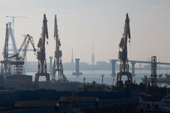 Cadiz Docks Stock Image