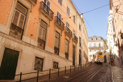 Cadiz funicular Royalty Free Stock Images