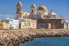 Cadiz i södra västra Spanien royaltyfri foto