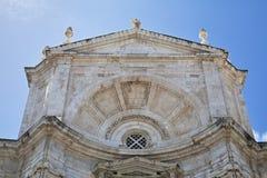 Cadiz katedra Fotografia Stock