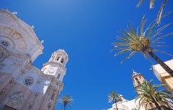 Cadiz-Kathedrale. Lizenzfreie Stockbilder