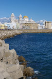 cadiz kust Fotografering för Bildbyråer