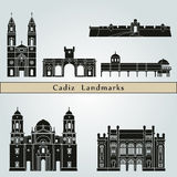 Cadiz Landmarks Stock Photography