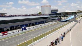 CADIZ - MAJ 28: Formel V8 3 för världsserie 5 på Jerez de la Bekläda arkivfilmer