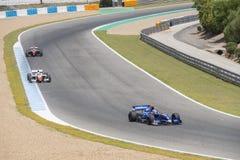 CADIZ - MAY 28: World Series Formula V8 3.5 at Jerez de la Front Royalty Free Stock Image