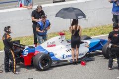 CADIZ - MAY 28: World Series Formula V8 3.5 at Jerez de la Front Royalty Free Stock Photo