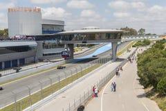 CADIZ - MAY 28: World Series Formula V8 3.5 at Jerez de la Front Royalty Free Stock Images