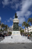 Cadiz a Moret monument in Cadiz,Spain Stock Photography