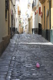 Cadiz, narrow street Stock Photography