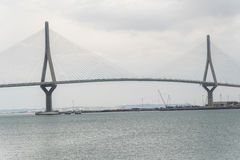 Cadiz new bridge view, called Pepa or the 1812 Constitution, And Stock Photos