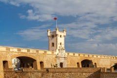 cadiz Puerta DE Tierra stock afbeelding