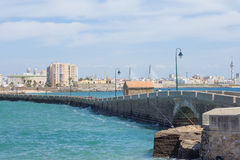 Cadiz seaside Royalty Free Stock Photos