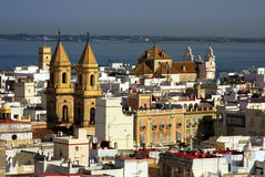 Cadiz Skyline Stock Photos