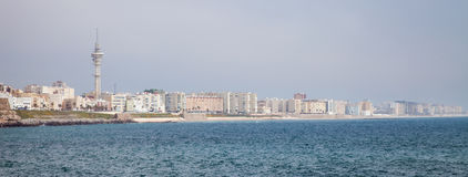 Cadiz Skyline Royalty Free Stock Image