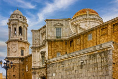 Cadiz, Spain. Cupola of Cathedral church. Stock Image