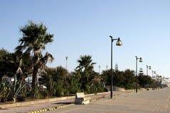 Quay in the city of Cadiz, standing on the Atlantic coast. Stock Photo