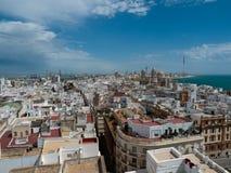 Cadiz Spanien Royaltyfri Fotografi