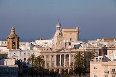 Cadiz Spanien Arkivbilder