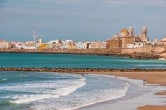 Cadiz Spanien Royaltyfria Foton