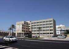 CADIZ, SPANJE - JULI 5, 2011: Het Grondwetsvierkant is één van de belangrijkste vierkanten van Cadiz royalty-vrije stock afbeeldingen