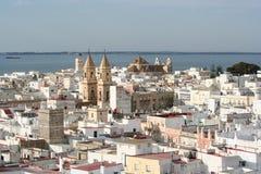 Cadiz stad, Spanien Fotografering för Bildbyråer