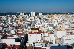 Cadiz from Torre Tavira Stock Photos