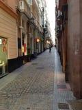 Cadiz ulica Obraz Stock