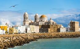 Cadiz Waterfront Stock Image