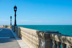 Cadiz waterfront Royalty Free Stock Images
