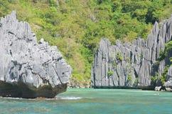 Cadlao Lagune stockfotos