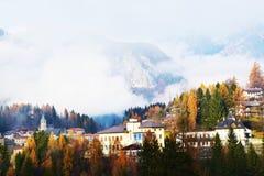 Cadore, Dolomiti góry, Belluno prowincja Fotografia Royalty Free