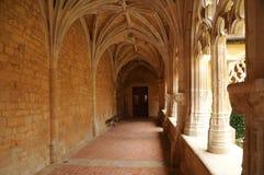 Cadouin abbey in Perigord stock image