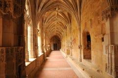 Cadouin abbey in Perigord stock photography